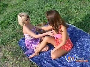 Tit teazer files 1 Lesbian Vintage Public Porn Scene www.vintagepornbay.com