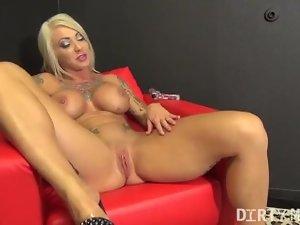 Female Bodybuilder Porn Star Dani Andrews Naked