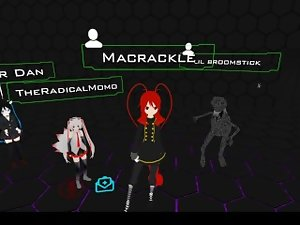 Qwonk (Famous VRChat player) has Macrackle endore him for president 2020