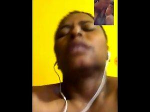 Phat Pussy Ebony Video Chat Masterbation PT.2