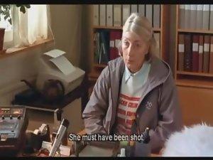 Swedish granny Gudrun gets Gunnars prick down her gullet