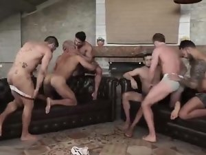 Manly Orgy