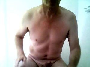 Richard Crowe Nude and Masturbating