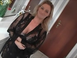 Germany big titted mummy blow&fuck