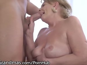 Solid Gets her Titties Licked and 19 years old Penis Injected!