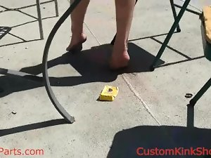 Kayla Jane Danger foot torment