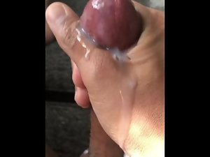 My Friend Squeezin Nut Out