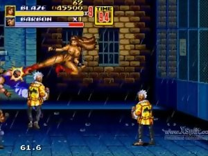 Let's Have fun Streets of Rage 2 Bare Blaze Part 1
