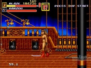 Let's Have fun Streets of Rage 2 Naked Blaze Part 3