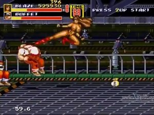 Let's Have fun Streets of Rage 2 Naked Blaze Part 7