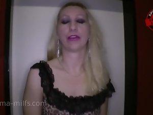 A lot of Jizz For Sperma-Milf Anna Blondie