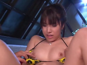 Deep bang-out Sensual japanese trio for voluptuous - More at 69avs.com