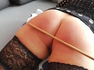 Randy Miss A. got a caning