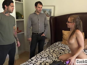 Norah Nova bangs her husband's friend