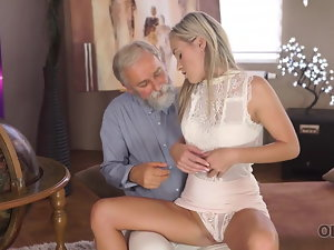 OLD4K. Wild chisel of older schoolteacher was main target for slutty..