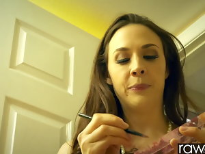 RawAttack - Chanel Preston is penalized by a monster spear