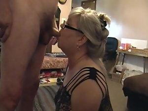 Kim Bates providing a fresh ball draining blowjob. Like one?