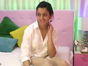 Indian cam girl Devika Chaste playing