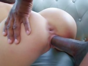Dark-haired lady is living out her dream and fucking a BBC