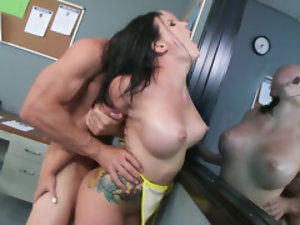 Beautiful harlot Casey Cumz paired up with the stud called Johnny Sins
