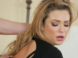 Blonde wife gets a double penetration and enjoys it
