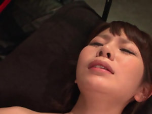 Little Japanese chick has her wet pussy abused with sex toys