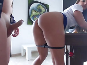 Babe gives the boss her pussy to get extra vacation