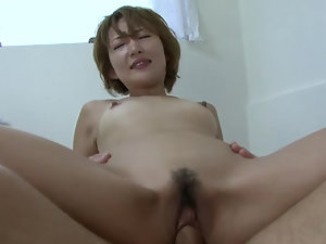 Japanese lady needs to take full care of her white partner