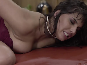 Secretary Mercedes Carrera is asked for massage but sex is better